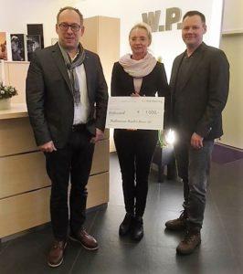 von links: Werner Post, Petra Post, Bernd Pieper