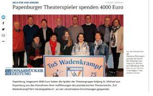 Theatergruppe Kolping St. Michael aus Papenburg