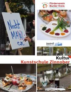 Nacht Ma[h]l-en: Essen und Kunst