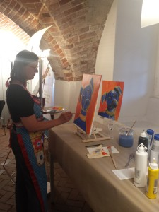 Kooperation mit der Kunstschule Zinnober
