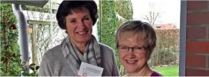 Im Interview: Angela Hebbelmann (Fallmanagerin im Marien Hospital Papenburg und Heide Heyen-Strehlau (1. Vorsitzende des Fördervereins)