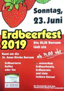 Erdbeerfest 2019 Borsum