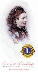 Logo Emmy von Dinklage * LIONS CLUB PAPENBURG